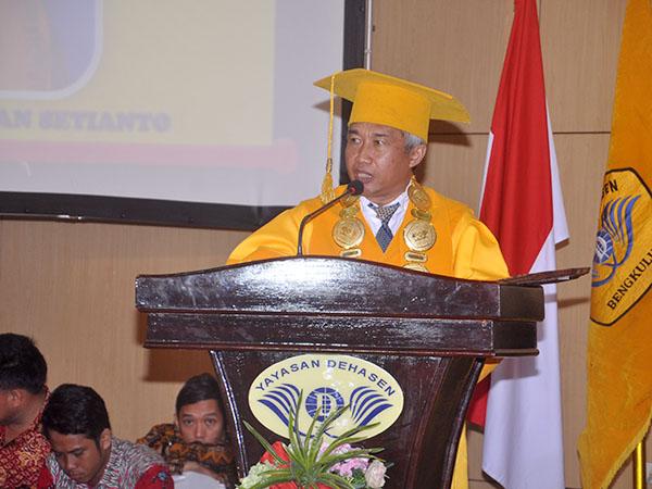 Pidato Rektor UNIVED